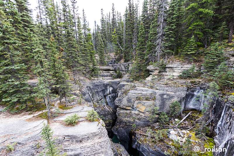 Mistaya Canyon - Canadá