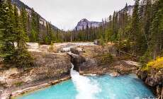 Natural bridge - Rocky Mountains