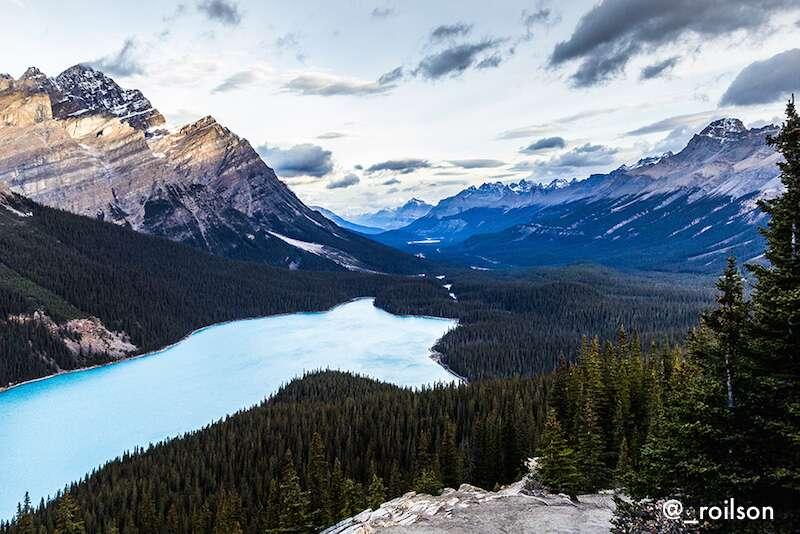 Peyto lake - Canadá