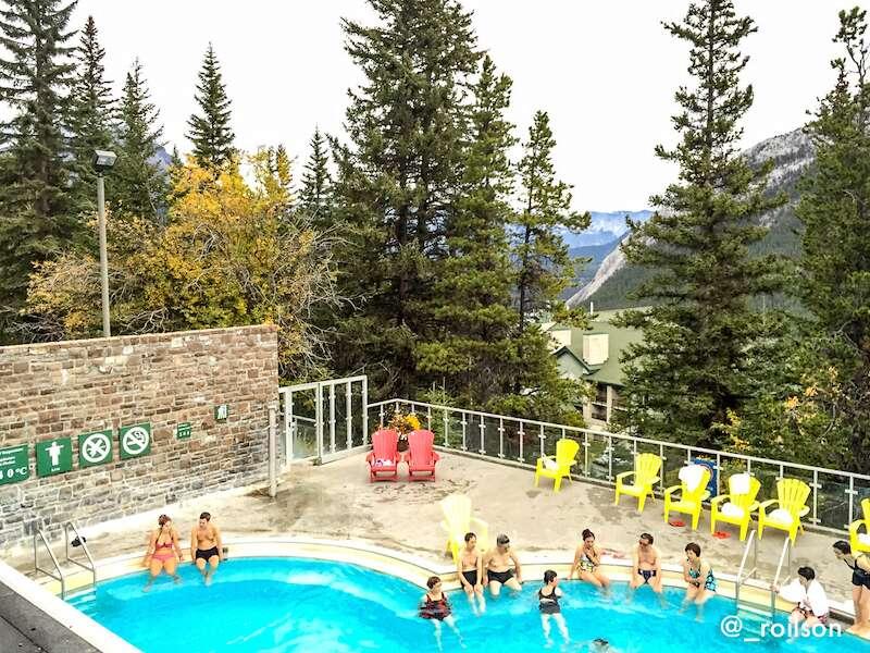 Termas de Banff em roteiro pelo Canadá