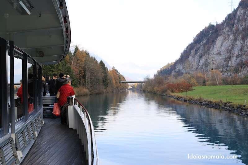 Passeio de barco - Suíça