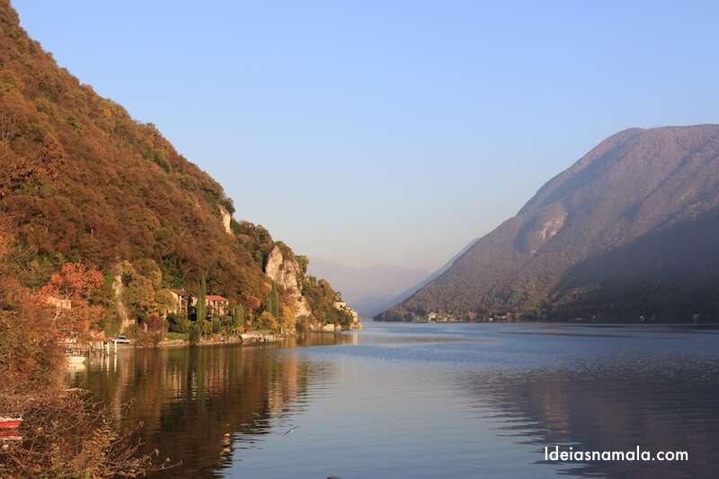 Lago de Lugano - Suíça