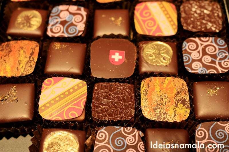 Degustação de chocolates  7