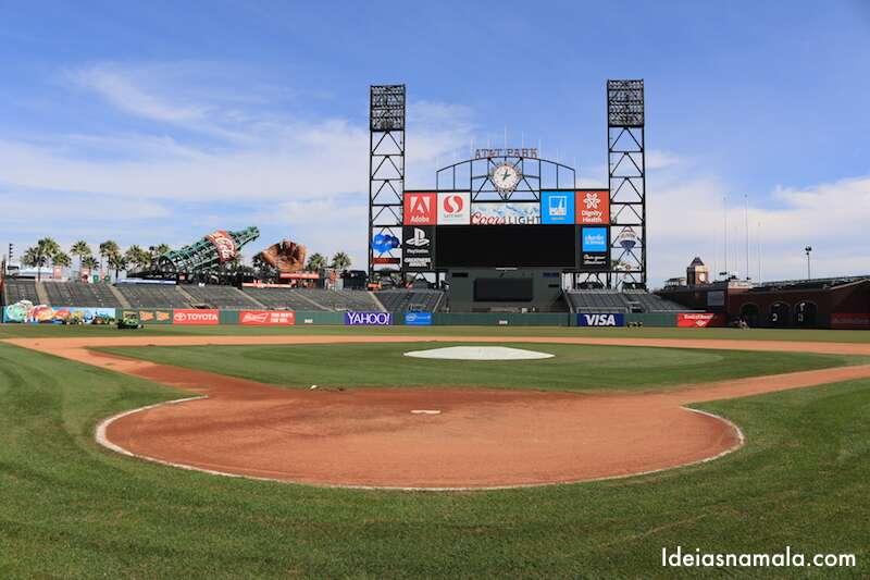 Gramado AT&T Park - San Francisco