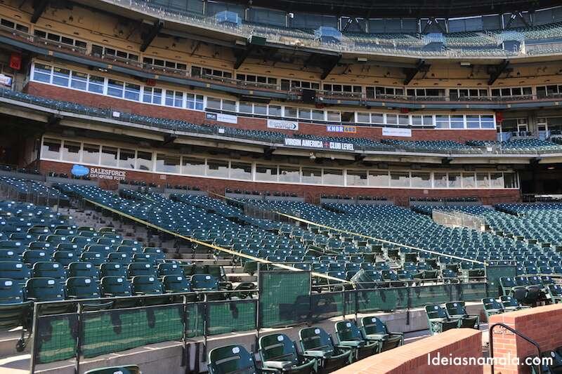 SF Giants - arquibancada do estádio