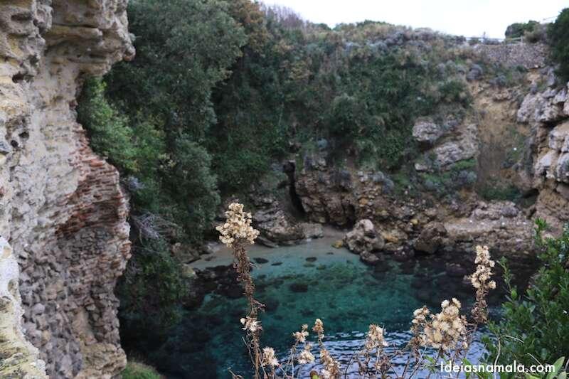 Costa Amalfitana no inverno