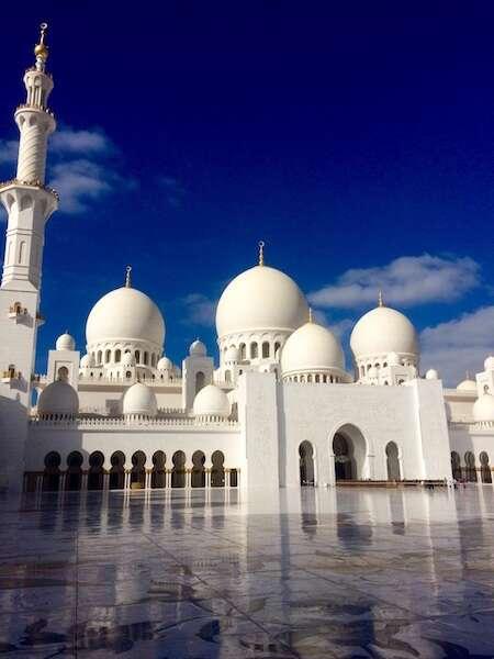 Abu Dhabi - Cruzeiro pelo oriente