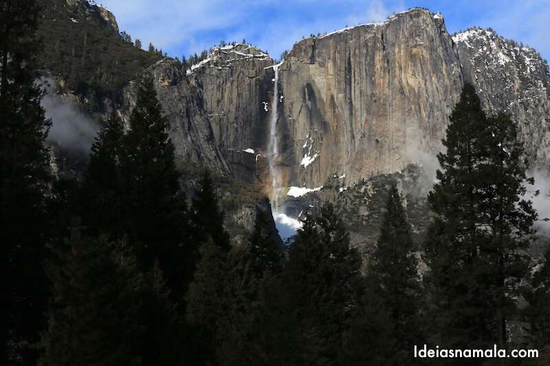 Yosemite Park no Inverno