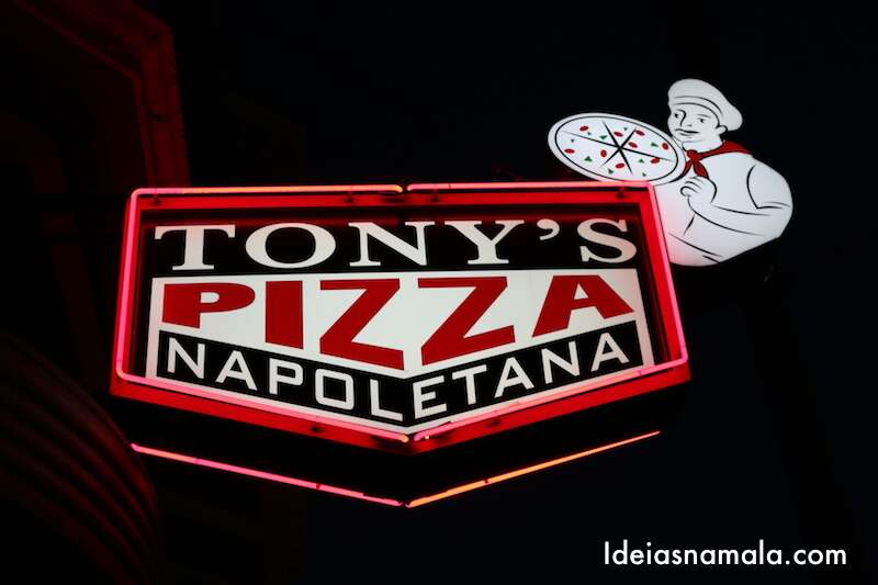 Tony's Pizza - San Francisco