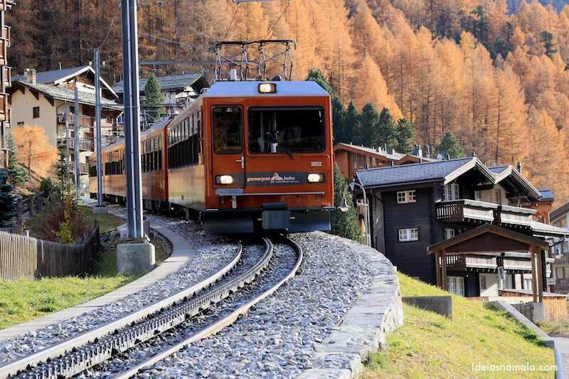 Viagens de trem e barco na Suíça
