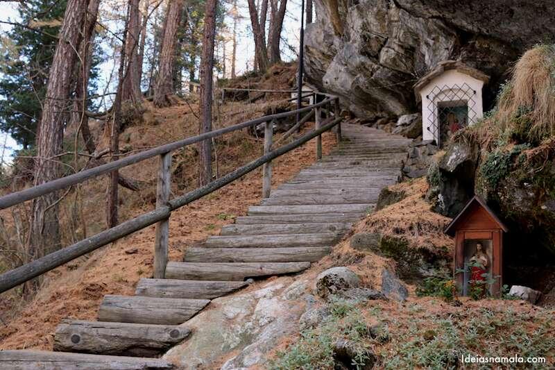 Via Sacra em Zermatt