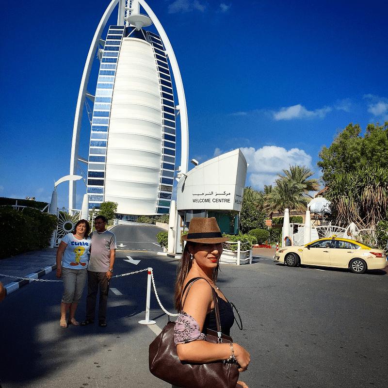 Photobombed por turistas...