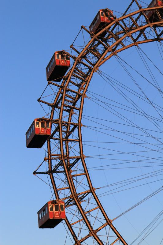 Roda gigante do Prater em Viena