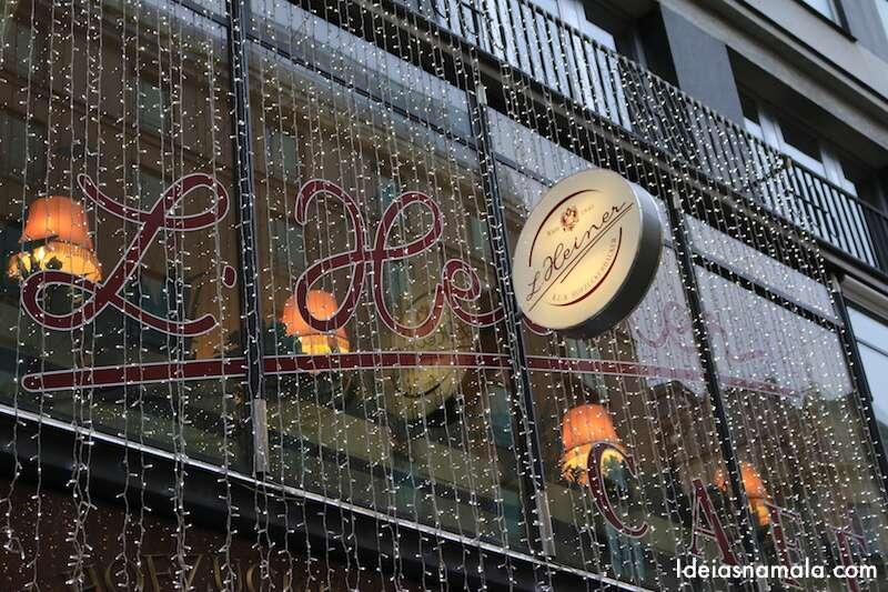 Cafés e confeitarias em Viena