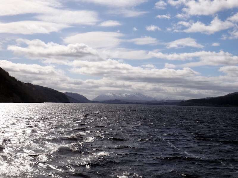 Trilha em Highlands