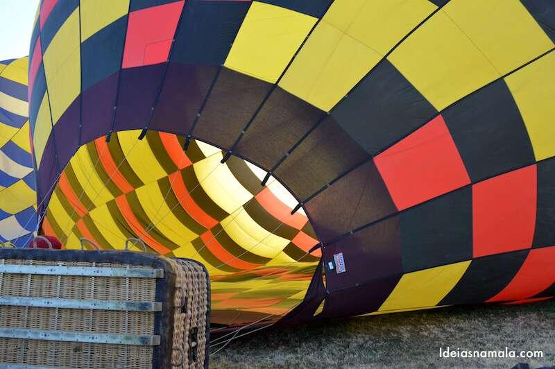 Passeio de balão em Napa Valley