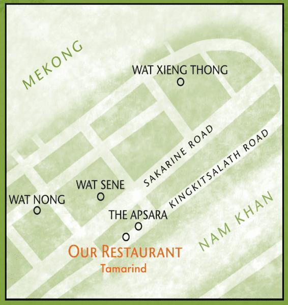 Restaurante Tamarind - Luang Prabang