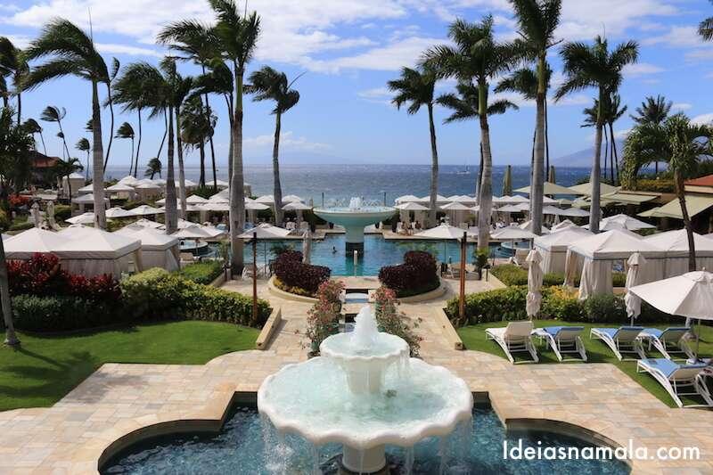 Hotel Four Seasons em Maui