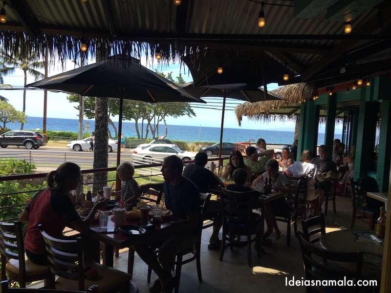 Onde comer BEM em Maui