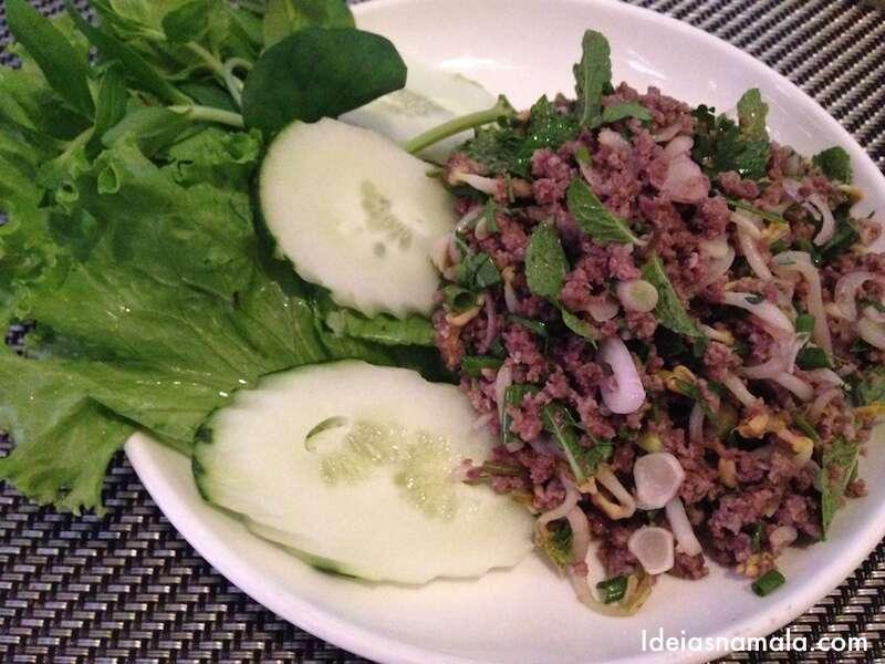 Comida típica do Laos