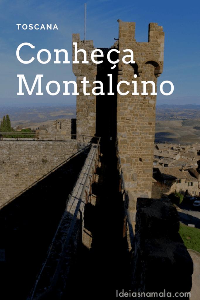 Um passeio em Montalcino
