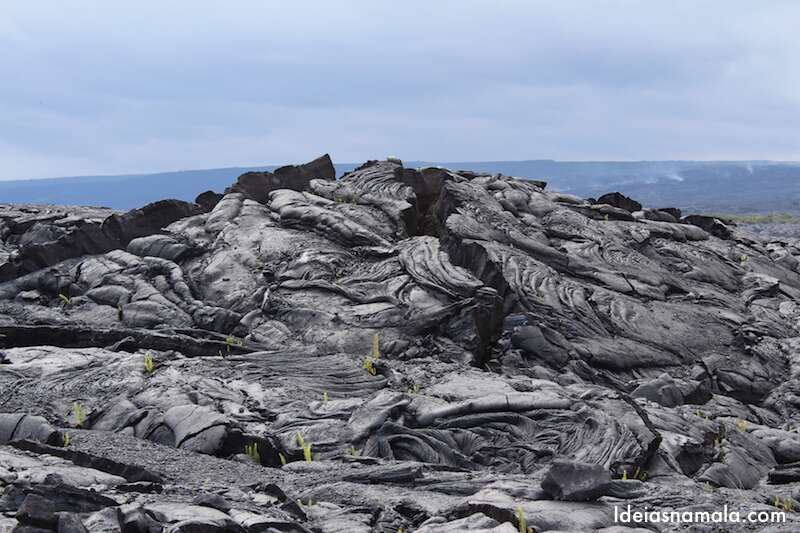 Lava do vulcão Kilauea