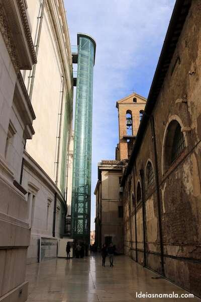 Roma vista do alto do monumento Victor Emmanuel II