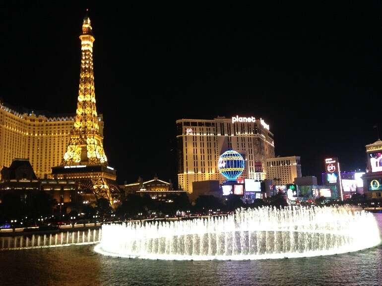 Califórnia, Las Vegas e Nova York