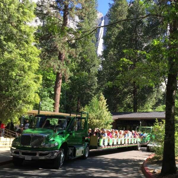 Yosemite de trem
