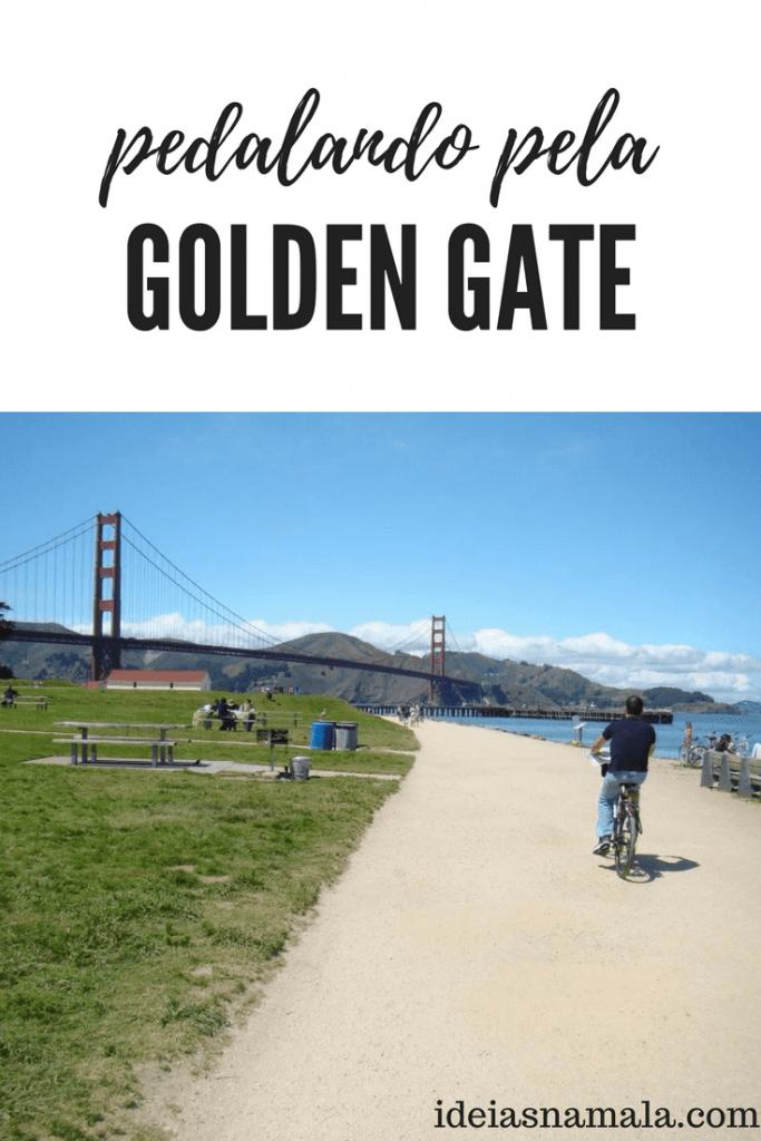 Pedalando pela Golden Gate