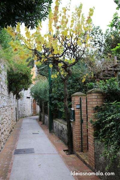 Caminhada caprichado por Capri