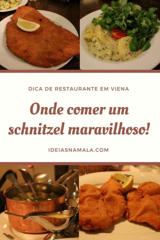Onde comer schnitzel em Viena