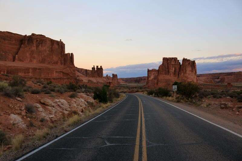 Roteiro de 1 dia no Arches National Park