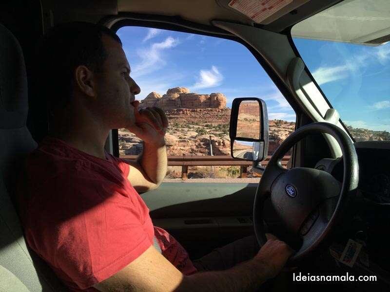 Quanto custa viajar de Motorhome pelo deserto de Utah?