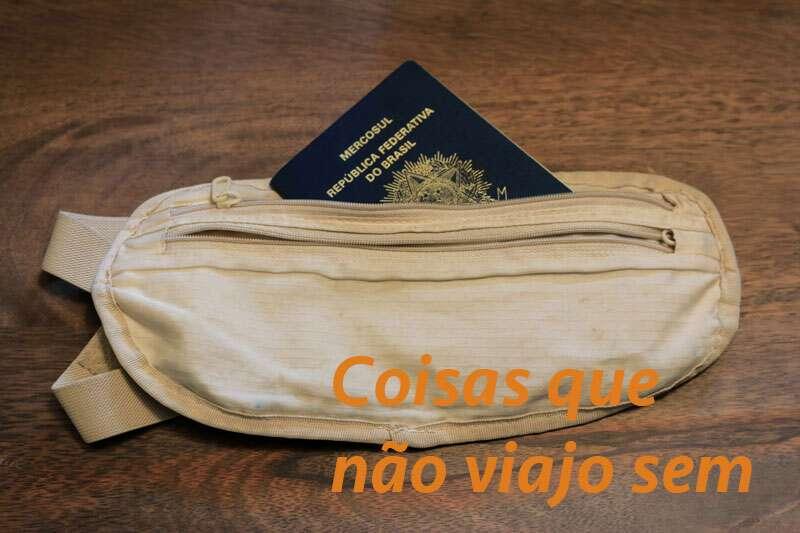 não viajo sem