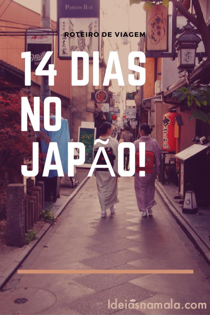 14 dias no japão!