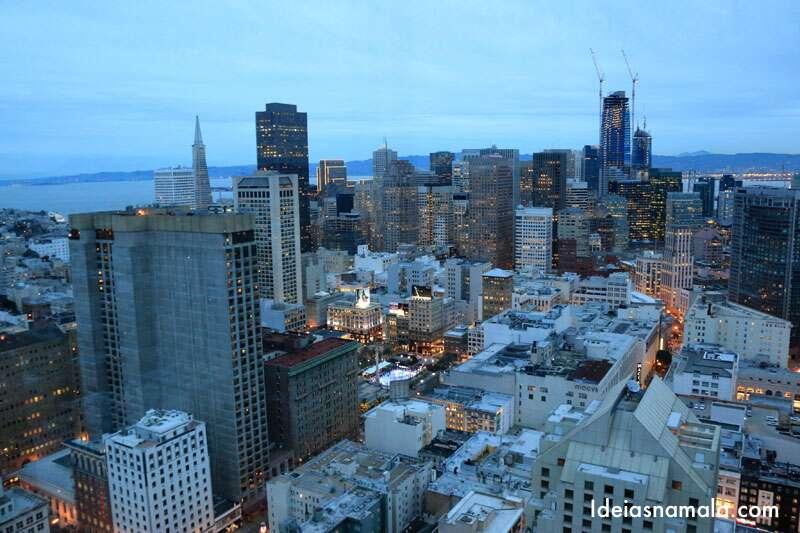Vista do Cityscape no Hilton San Francisco