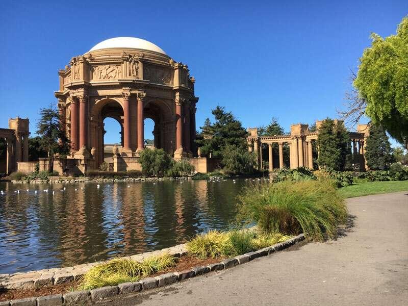 Palace of Fine Arts em San Francisco
