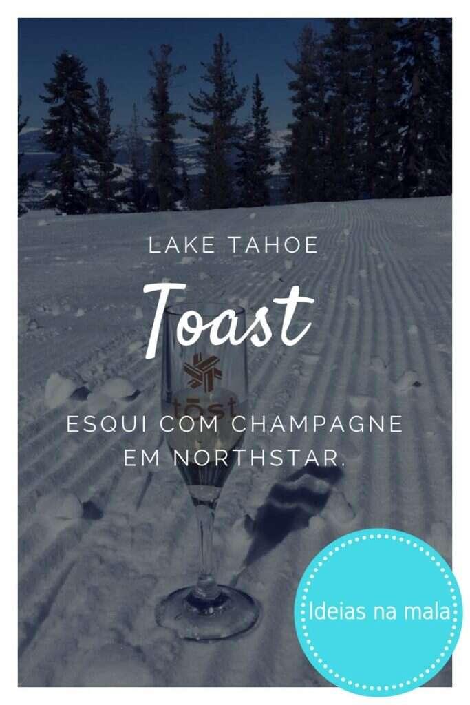 esqui com champagne em Northstar