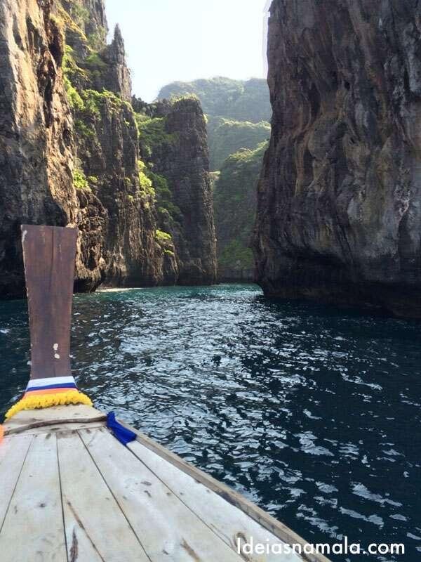 Passeio de barco em Koh Phi Phi