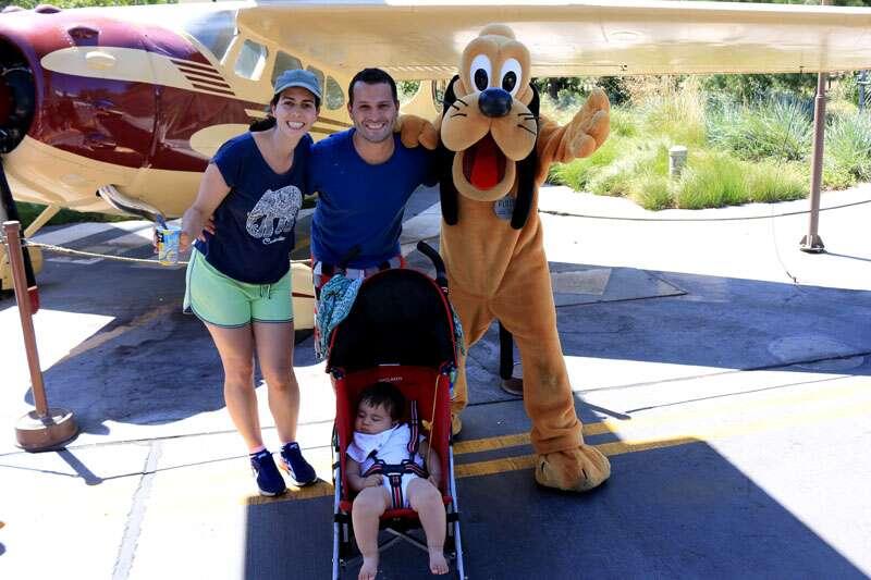 Disney com bebe