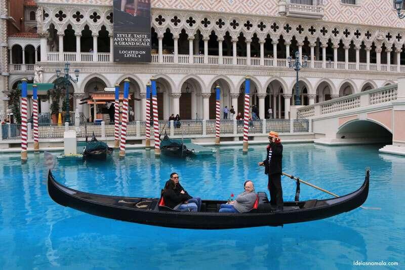 Shopping do The Venetian em Las Vegas