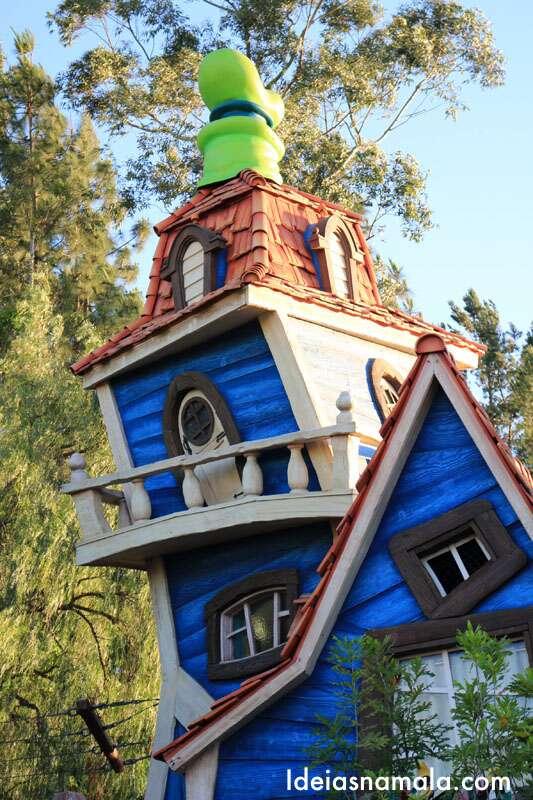 Casa do Pateta na Mickey's Toontown