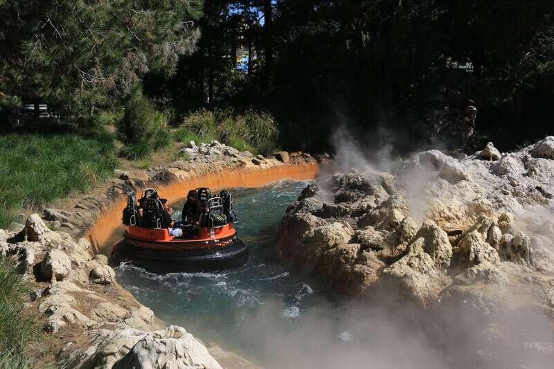 Grizzly River Run na California Disney Adventure