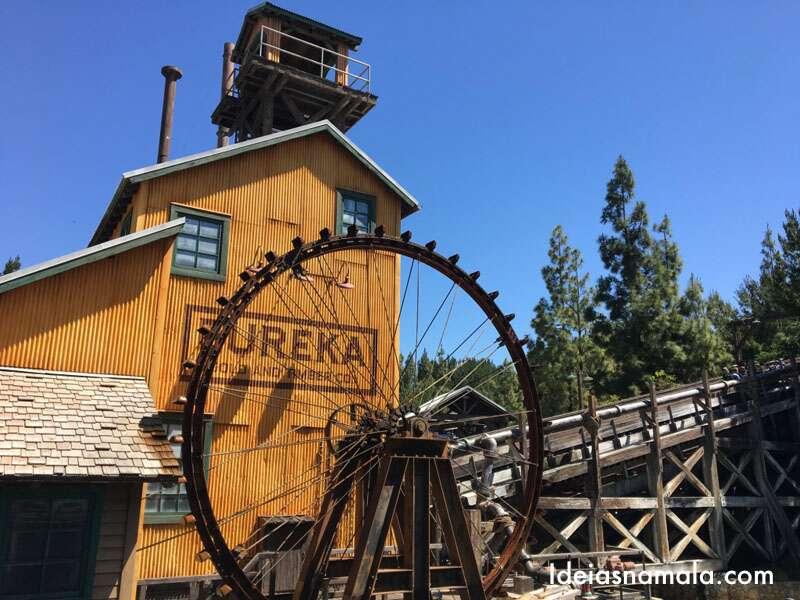 Grizzly Peak no California Disney Adventure