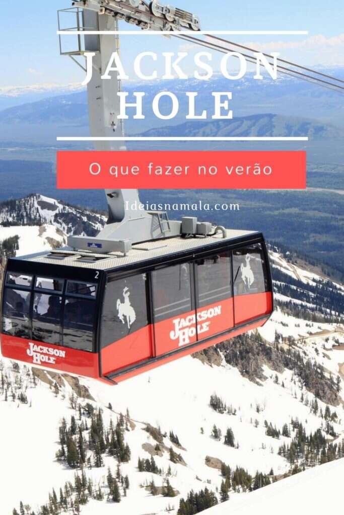 Jackson Hole em Wyoming