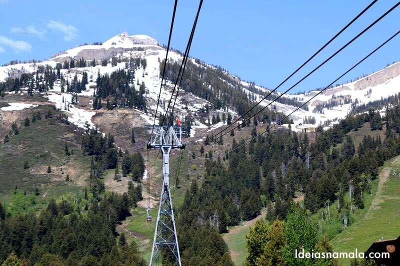 Jackson Hole no verão