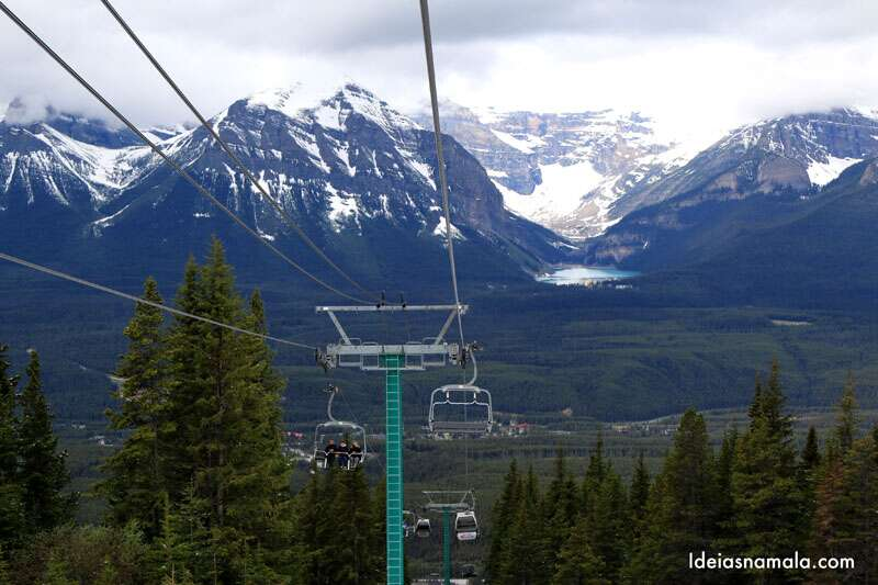 Gondola Lake Louise