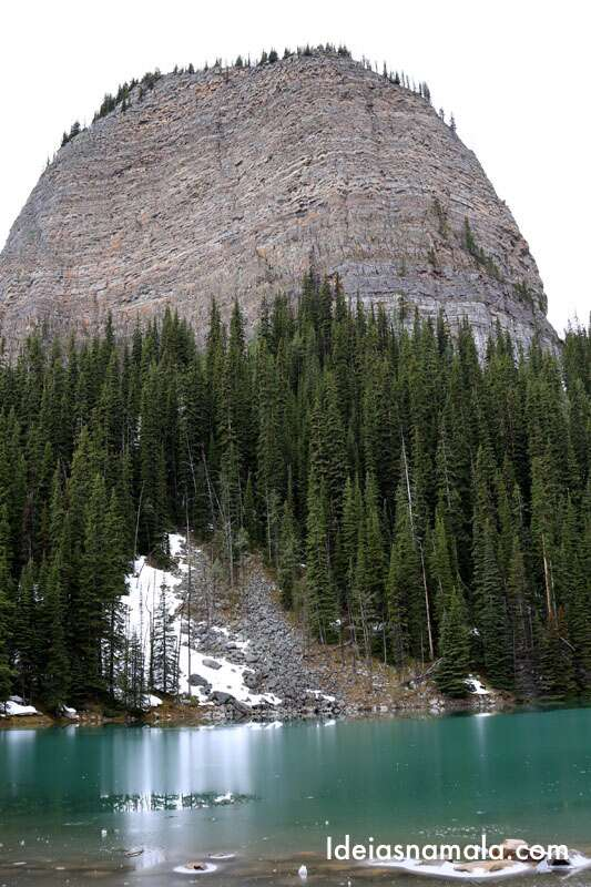 Casa de chá Lake Agnes