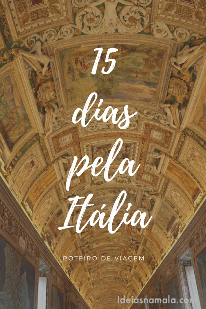15 dias pela Itália